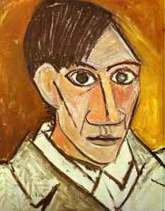 The Self Portrait 1907, Pablo Picasso. Copyright www.pablopicasso.org